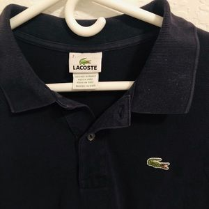 Lacoste Polo Navy size XL (7 in EU)